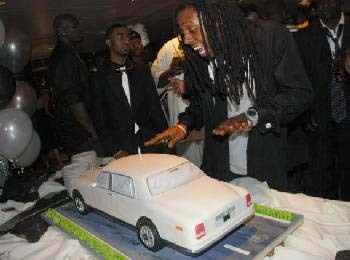 Guess who else likes car cake.