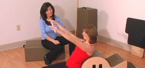Do a Pilates routine to treat Upper Cross Syndrome