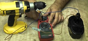 Measure the amps of an electrical circuit with a multi-meter
