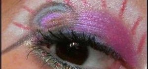 Do a Candyland inspired eye makeup look