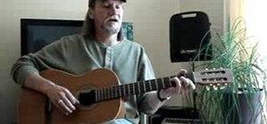 Use three chord-per-measure strum patterns on guitar