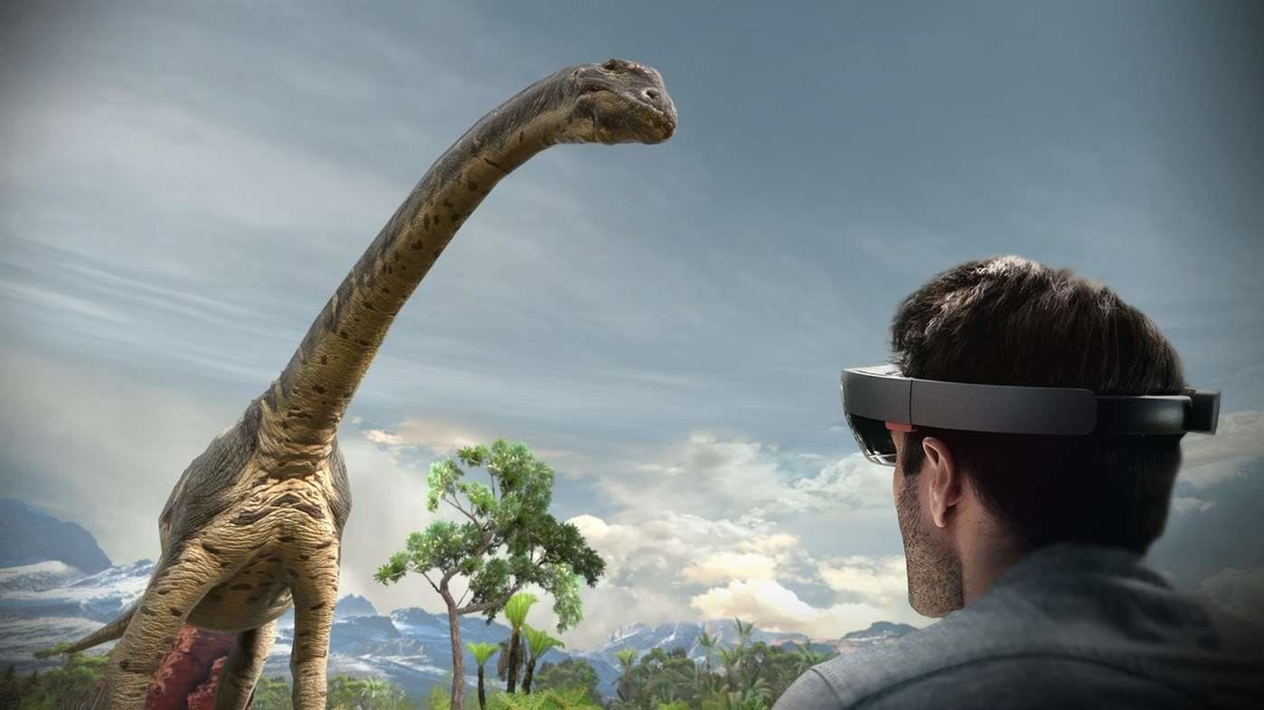 'Land of Dinosaurs' HoloLens App Brings Jurassic Park to Life with Holograms