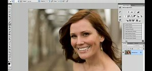Enhance lip color and tone in Adobe Photoshop CS5