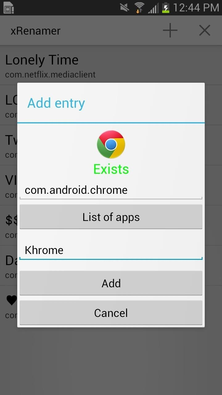 How to Rename Almost Any App on Your Samsung Galaxy Note 2