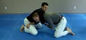Escape from a Jiu Jitsu Anaconda choke