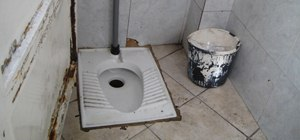Use a squat toilet in exotic countries