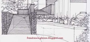 Drawa garden in pen
