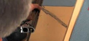 Properly clean barrels on a shotgun
