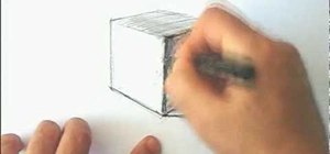 Draw a cube in 3D