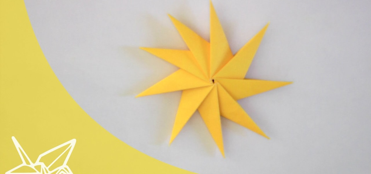 how to make an origami star 171 tavins origami wonderhowto