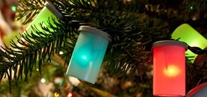 Create Cool Holiday Lights with Excess Film Cannisters