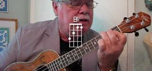 "Play ""I Saw Her Standing There"" by the Beatles on the ukulele"