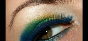 Create a Brazil World Cup inspired make up look