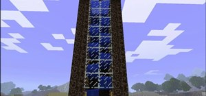 Build an automatic water elevator in Minecraft beta 1.6.6