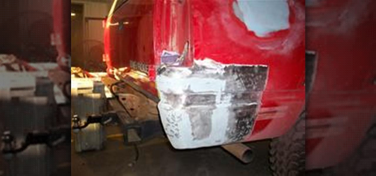 How To Use Fiberglass Filler For Auto Body Repair 171 Auto