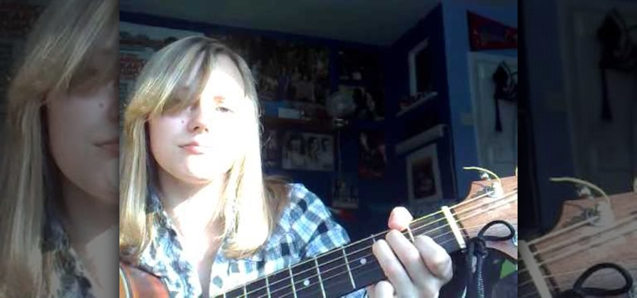 How To Play Live Forever By Oasis On The Acoustic Guitar
