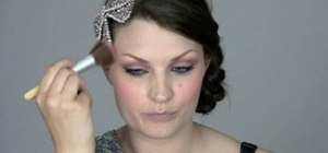 Create a romantic, girly pink rose makeup look