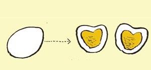Make a Heart-Shaped Hardboiled Egg