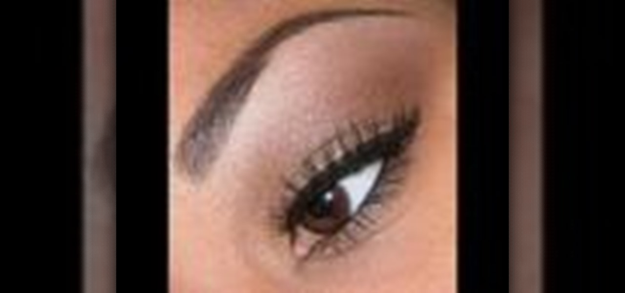 How To Apply Simple Brown Eye Makeup Makeup Wonderhowto