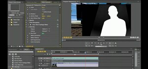 Remove a green screen in Adobe Premiere Pro CS5