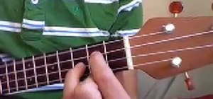 "Play ""Good Riddance"" by Green Day on the ukulele"