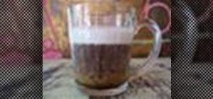 Make an Irish coffee drink