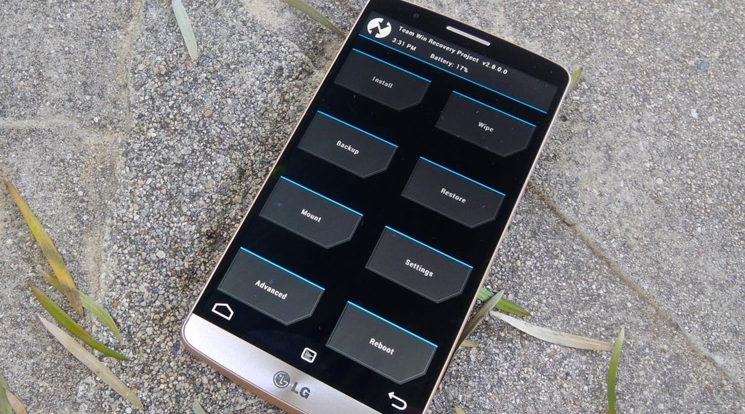 How to Unlock the Bootloader & Install a Custom Recovery on the LG G3