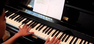 "Play ""Grenade"" by Bruno Mars on piano"