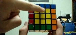 Solve a 5x5 Rubik's Cube Professor