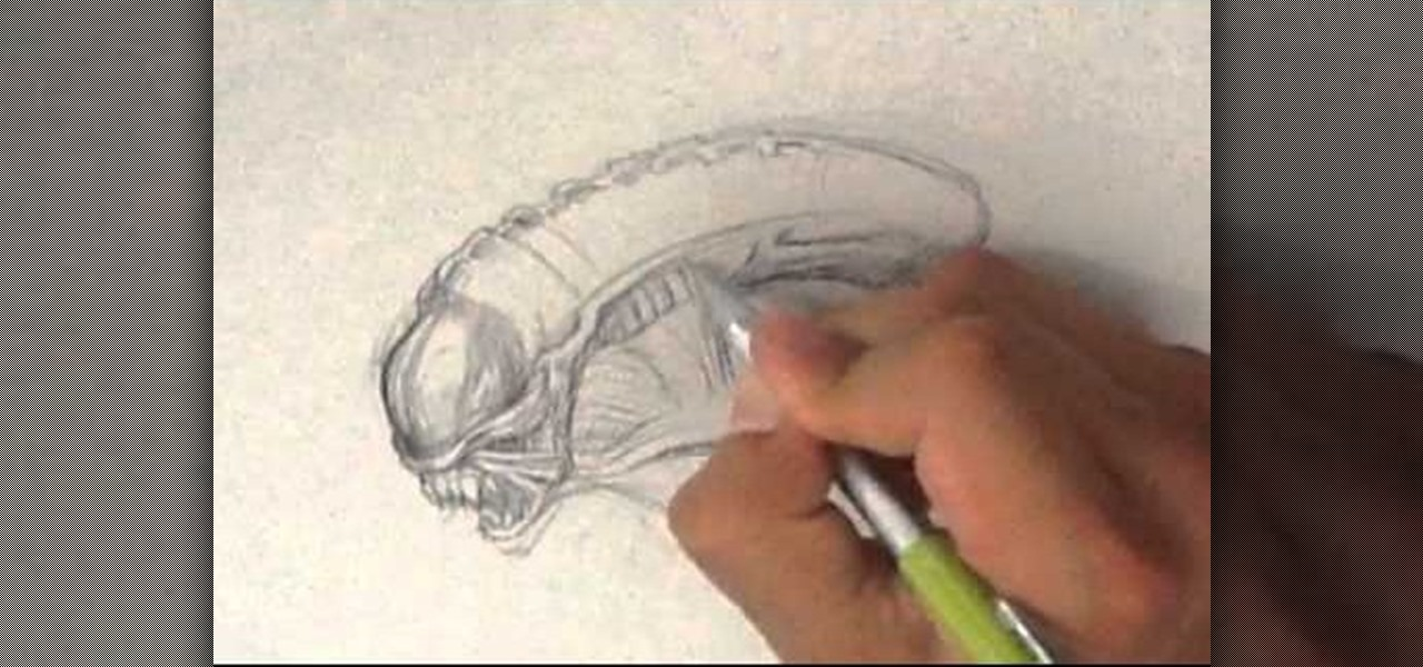 Draw Alien from Aliens