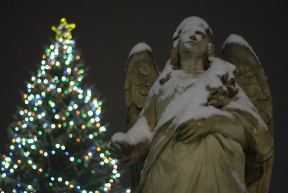 Bokeh Photography Challenge: Angel on Christmas