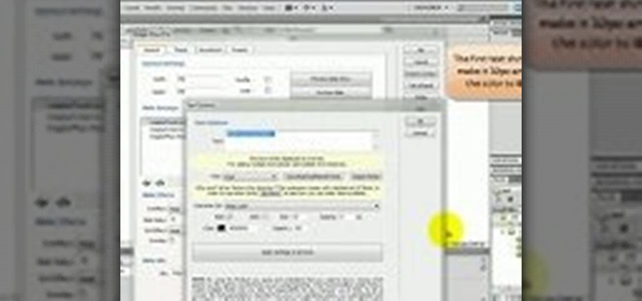 how to make slideshow in dreamweaver