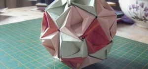 Make a 30-sheet paper medicine ball (kusudama)
