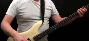 "Play ""Tush"" by ZZ Top on the bass guitar"