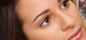 "Create a ""Glee"" Rachel Berry (Lea Michele) makeup look"