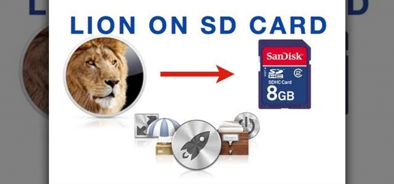 How To Use An Sd Card To Install Mac Os X Lion 171 Operating