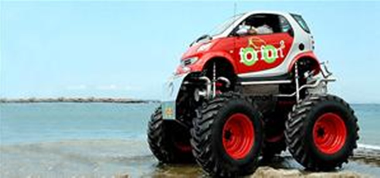 Monster Truck Your Smart Car Mods WonderHowTo