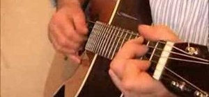 "Play Eric Clapton's ""Alberta"" on acoustic guitar"