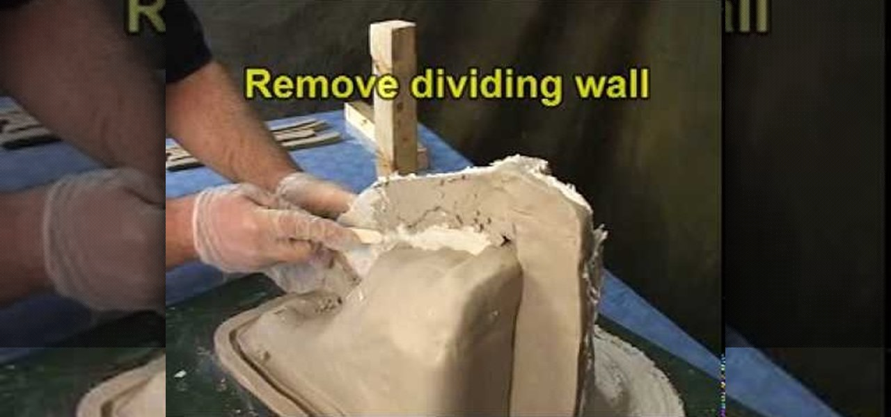 How to Make a cavity pour mold out of silicone rubber