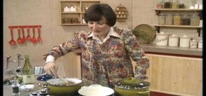 Make French onion soup with Delia Smith of the BBC