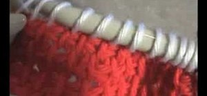 Crochet a color change with a Tunisian stitch