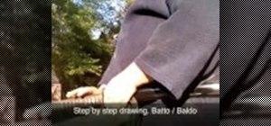Draw and return a basic iaido sword correctly