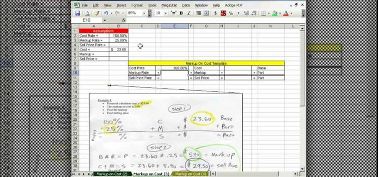 cost of microsoft excel