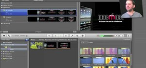 Create custom templates in Apple iMovie