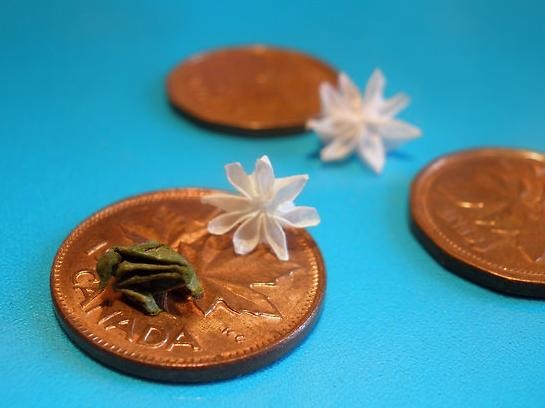 Microscopic Origami