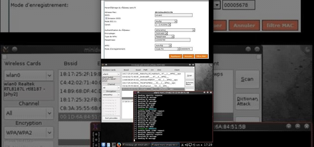 How to Crack 9 Digits WPS Pin (Sagem Fast 3304v2)   « Null