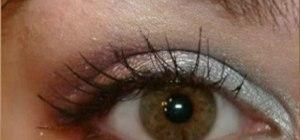 Apply eye makeup for dark brown, black, or Asian eyes
