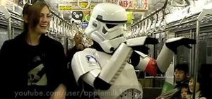 Put on Star Wars Stormtrooper armor