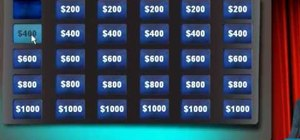 Create a Jeopardy game in Flex