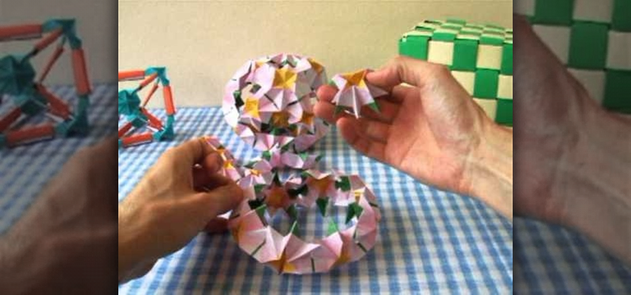 How To Fold A Complex 18 Part Modular Origami Ball WonderHowTo